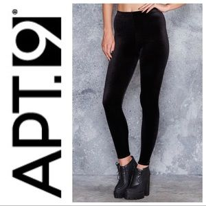 Apt. 9 | Black Velvet Leggings